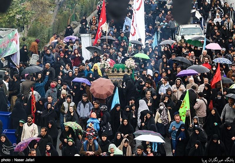 روایت تسنیم از پیادهروی جاماندگان اربعین حسینی در تهران+تصاویر