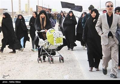 راهپیمایی اربعین حسینی در اراک
