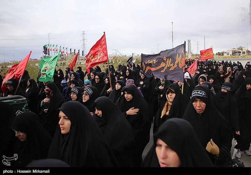 مراسم عزاداری اربعین حسینی در قزوین