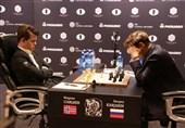کارلسن قهرمان شطرنج جهان باقی ماند
