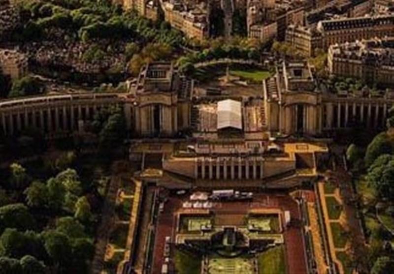 عکس/ شهر پاریس از بالای برج ایفل