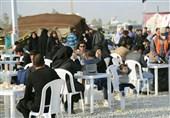 پذیرایی روزانه از 15 هزار زائر اربعین در پایگاه خدماترسانی کنجانچم مهران