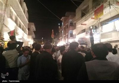 شب اربعین کراچی کے مرکزی جلوس کی تصویری رپورٹ