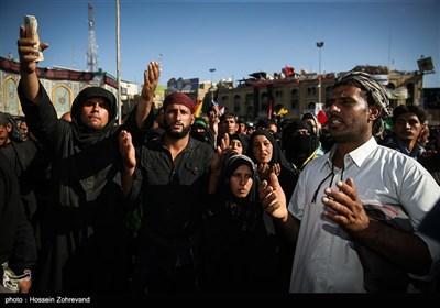 قرائت زیارت اربعین زائران حسینی