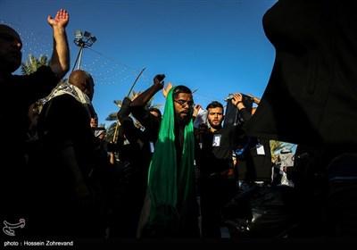 الأجواء بین الحرمین فی أربعین الإمام الحسین (ع)