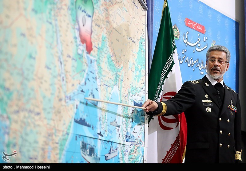 All Vessels in North Indian Ocean Under Iran's Surveillance: Commander