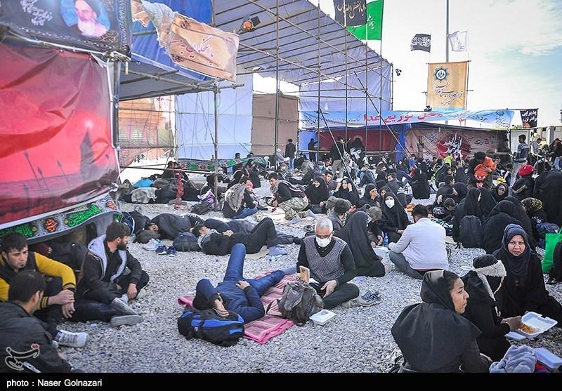 بینظمی در مرز مهران/معطلی زائران اربعین در بازگشت به شهرشان