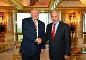 Siyonist Netanyahu, Tel Aviv'e Trump İle Çekilmiş Fotoğraflarını Kullandı