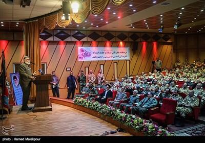 سخنرانی امیر احمدرضا پوردستان جانشین جدید فرمانده کل ارتش