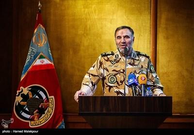 سخنرانی امیر کیومرث حیدری فرمانده جدید نیروی زمینی ارتش
