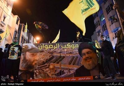 زائران اباعبدالله الحسین(ع) در شب اربعین