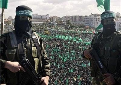 رژه نیروهای نظامی «گردانهای قسام» در غزه