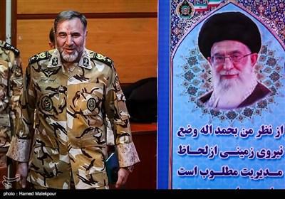 امیر کیومرث حیدری فرمانده جدید نیروی زمینی ارتش