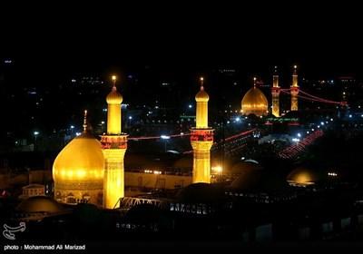 لیل أربعین الإمام الحسین فی کربلاء المقدسة