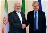 وزیر الخارجیة الایطالی یبحث مع ظریف هاتفیا القضایا الاقلیمیة