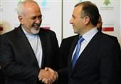 ظریف با همتای لبنانی خود دیدار کرد