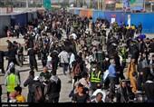بازگشت زائران کربلای حسینی از مرز مهران