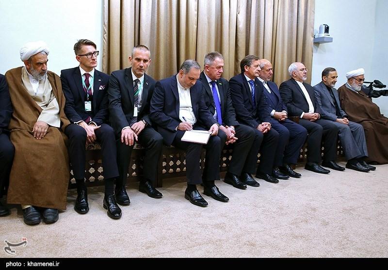 دیدار رئیس جمهور اسلوونی با مقام معظم رهبری