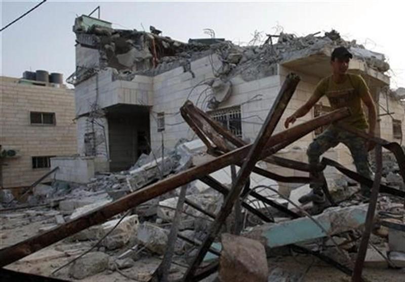 Siyonist İşgal Güçleri Kudüs'ün Doğusunda Filistinlilere Ait Beş Evi Yıktı