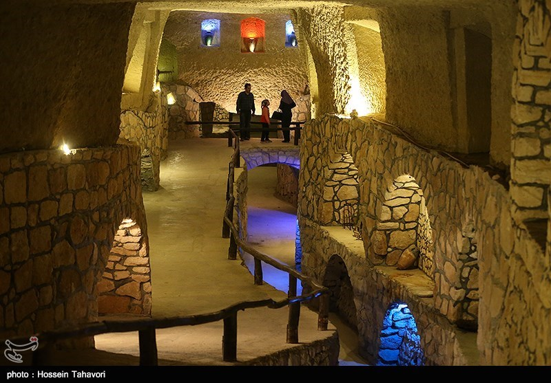Cultural Tourism Complex of Underground City of Iran's Kish Island