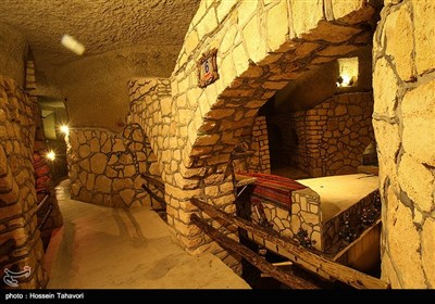 شهرزیر زمینی کاریز - کیش