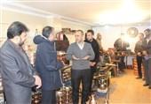 بازدید اعضای بسیج رسانه زنجان