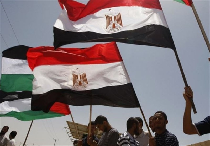 پرچم مصر و فلسطین