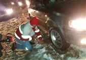 153 مسافر گرفتار در برف و کولاک در خراسان جنوبی اسکان داده شدند/دمای هوا به 10 درجه زیر صفر میرسد