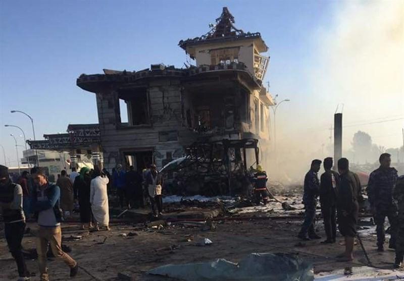 شهادت ۸۰ زائر در انفجار «حله» عراق/ برخی منابع: ۱۲ زائر ایرانی شهید شدند + عکس