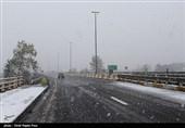 بارش برف در واجارگاه و کلاچای - گیلان