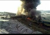 عدد قتلى اصطدام القطارین فی سمنان وصل الى 31