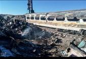 برخورد دو قطار مسافربری در سمنان