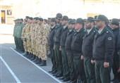 صبحگاه مشترک نیروهای مسلح در کاشان