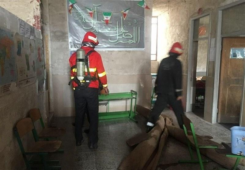 آتشسوزی در مدرسه زینبیه خرمآباد مهار شد - روز انلاین - Tasnim