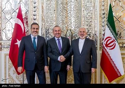 Iranian, Turkish FMs Meet in Tehran