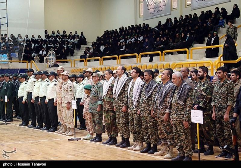 همایش بسیجیان مدافع حرم با حضور سردار رحیم صفوی در کیش
