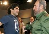 کاسترو المولع بالبایسبول والعاشق لکرة مارادونا ومیسی