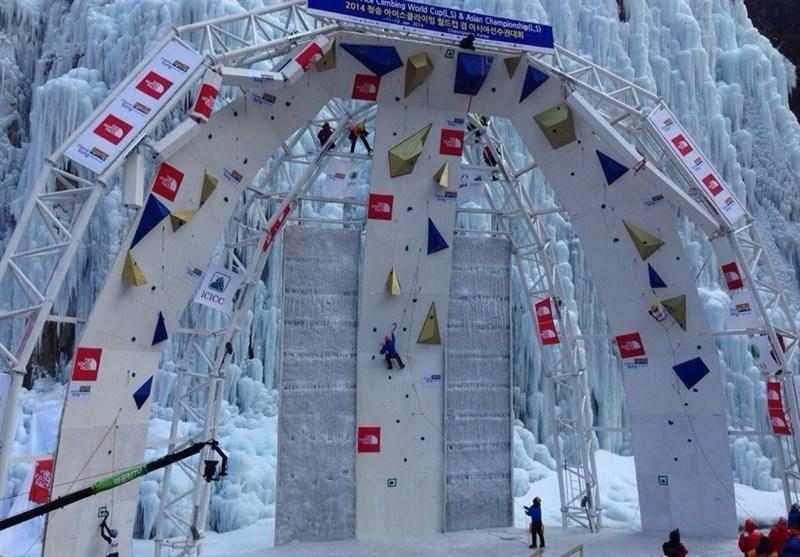 Iran's Safdarian Wins Bronze at UIAA Ice Climbing World Tour
