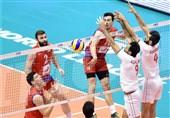 والیبال ایران صربستان