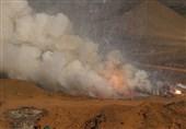 منفجر کردن وسایل آتشبازی