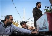 تشییع پیکر شهید گمنام در شهرری
