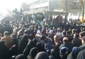 برگزاری مراسم تشییع و تدفین پیکر شهدای گمنام در تهران+تصاویر