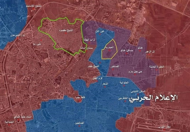 """الجیش السوری یحرر محطة میاه """"سلیمان الحلبی"""" ومساکن البحوث العلمیة"""" شرق حلب"""