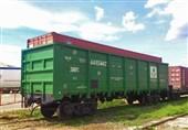 بارگیری شمش آهن در ایستگاه راه آهن رشت آغاز شد