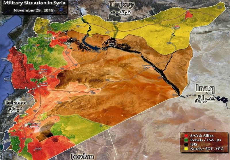 خریطة سوریا