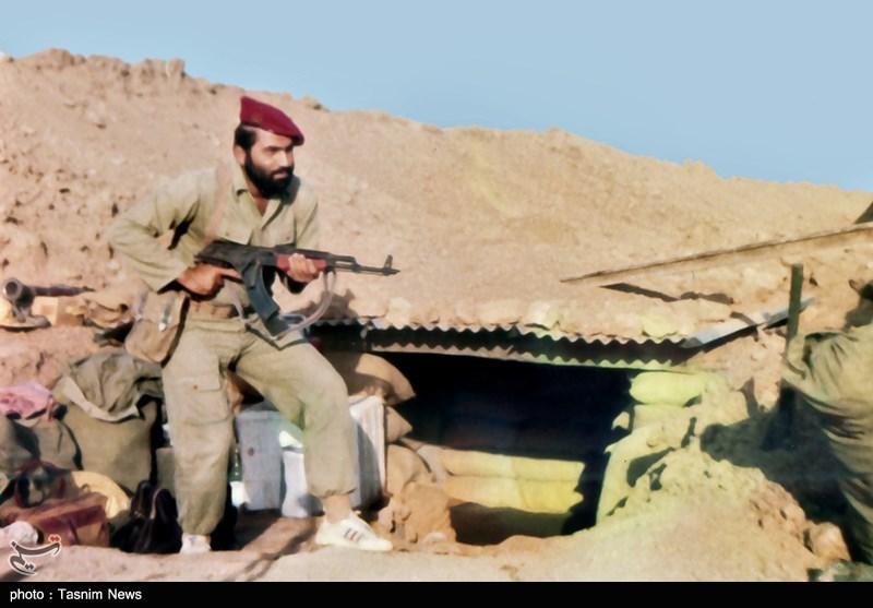 شهید احمد جعفرنژاد در جبهه های حق علیه باطل