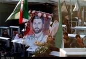 مراسم تشییع شهید احمد جعفرنژاد