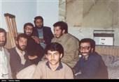 شهید احمد جعفرنژاد در جمع دوستان