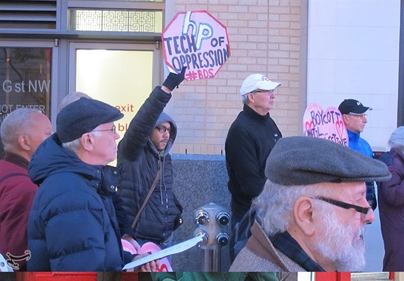 Siyonist İsrail Rejimi Washington'da Protesto Edildi + Foto