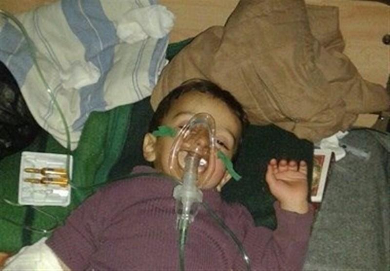 الإرهابیون یسرقون المساعدات الغذائیة قبل وصولها إلى کفریا والفوعة بریف إدلب +صور